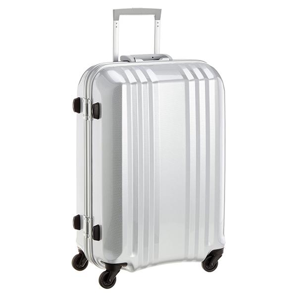 【送料無料】アジア・ラゲージ MM-5288 カーボンホワイト A.L.I(エー・エル・アイ) デカかる2 [スーツケース(49L/2~3泊)]