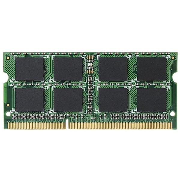 ELECOM EV1600-N4G/RO [ノートPC用増設メモリ SODIMM DDR3 PC3-12800 4GB] 【同梱配送不可】【代引き・後払い決済不可】【沖縄・離島配送不可】