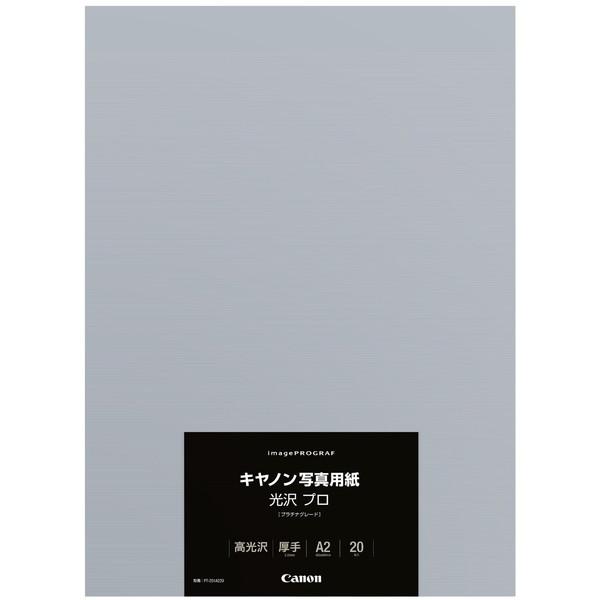 【送料無料】CANON PT-201A220 [写真用紙 (光沢・プラチナグレード・0.30mm・A2サイズ・20枚)]