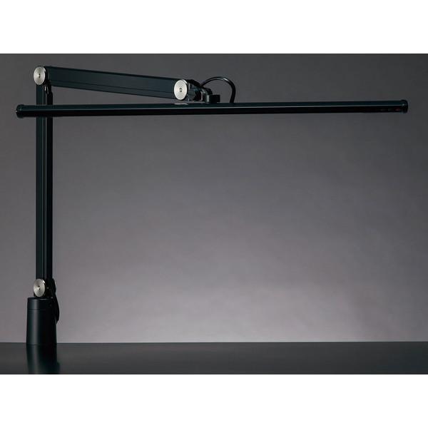 【送料無料】山田照明 Z-S5000-B ブラック(黒) Z-LIGHT(ゼットライト/Zライト) [クランプ式LEDスタンドライト] 連続調光 無段階調光(30~100%) 昼白色 5000K(Ra80) 丸形上締めクランプ(取付可能厚(10~45mm) JIS-AAクラス 精密作業 工場作業用 ZS5000B