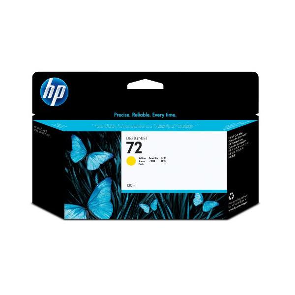 HP C9373A イエロー HP 72 [純正インクカートリッジ] 【同梱配送不可】【代引き・後払い決済不可】【沖縄・北海道・離島配送不可】