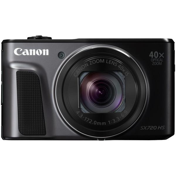 【送料無料】CANON PowerShot SX720 HS [ブラック] PowerShot [コンパクトデジタルカメラ(約2,030万画素)]