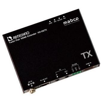 【送料無料】ADTECHNO HD-06TX [HD BaseT HDMIエクステンダー送信機(4K60p対応・筐体サイズ約15mm)]