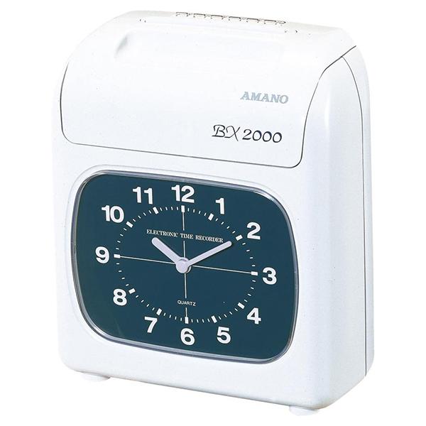 【送料無料】AMANO BX2000 [電子タイムレコーダー]