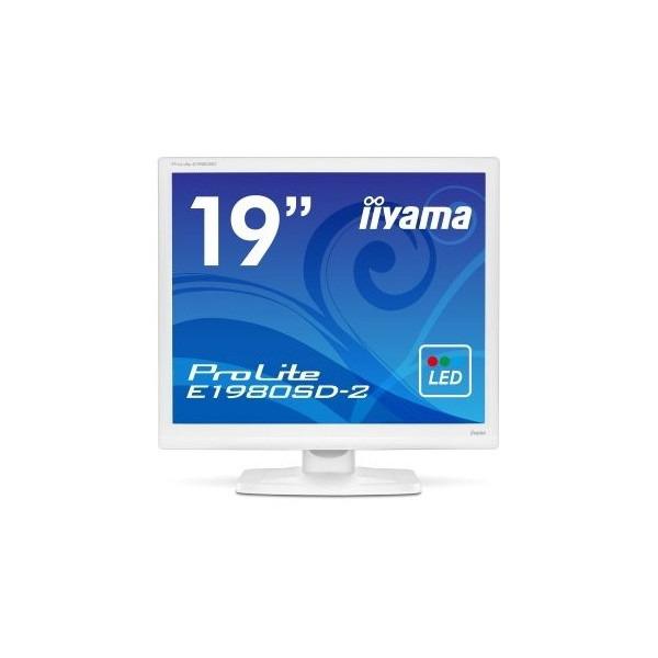 【送料無料】iiyama E1980SD-W2 ピュアホワイト ProLite E1980SD-2 [19型 LEDバックライト搭載液晶モニター] 【同梱配送不可】【代引き・後払い決済不可】【沖縄・北海道・離島配送不可】