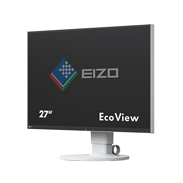 【送料無料】EIZO EV2750-WT ホワイト FlexScan [27型 カラー液晶モニター]【同梱配送不可】【代引き不可】【沖縄・離島配送不可】