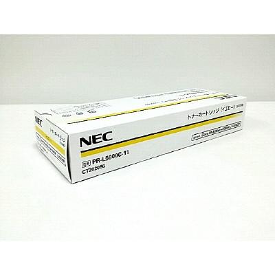 【送料無料】NEC PR-L5900C-11イエロー [ トナーカートリッジ] 【同梱配送不可】【代引き・後払い決済不可】【沖縄・離島配送不可】