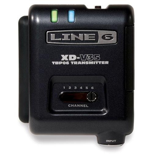 【送料無料】Line6 V35BP  [ 6チャンネル・ボディパック型トランスミッター (XD-V35用)]