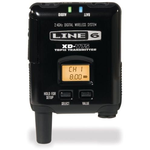 【送料無料】Line6 V75BP  [14チャンネル・ボディパック型トランスミッター (XD-V75用)]