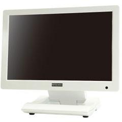 【送料無料】ADTECHNO LCD1015W ホワイト [業務用マルチメディアディスプレイ 10.1型ワイド液晶]
