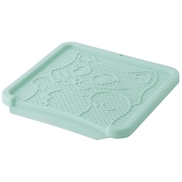 Richell NEWコロル 猫の砂取りマット SEAL限定商品 未使用 水色