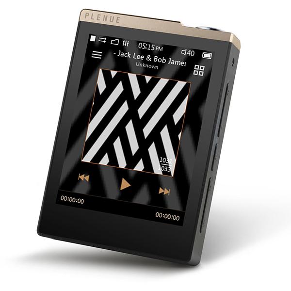【送料無料】COWON PD-32G-GB PLENUE D ゴールド [ハイレゾデジタルオーディオプレーヤー (32GB)]