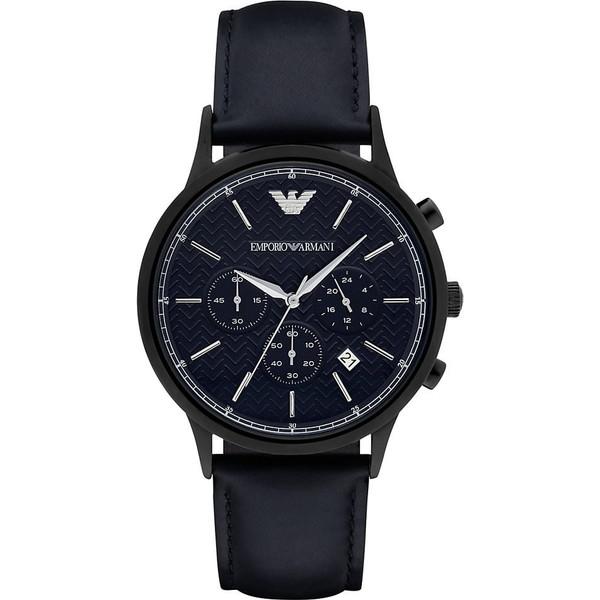 【送料無料】EMPORIO ARMANI AR2481 ダークブルー Renato Chronograph (レナト クロノグラフ) [クォーツ腕時計 (メンズウオッチ)] 【並行輸入品】