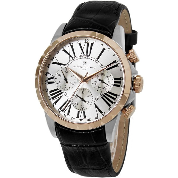 Salvatore Marra SM15103-PGSV [腕時計]
