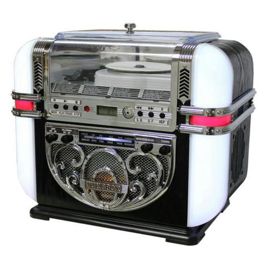 【送料無料】WINTECH/廣華物産 KBYL-08 ベビーベルリン [ジュークボックス型CDラジオ (MP3再生対応)]