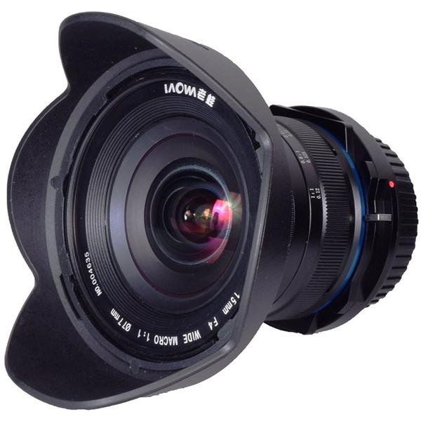 【送料無料】LAOWA 15mmF4 1xWide Macro Lens(Sony A用) [カメラ用交換レンズ]
