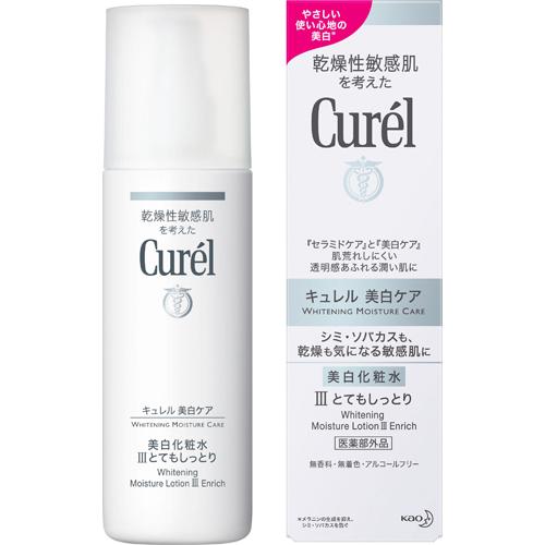 乾燥性敏感肌を考えた低刺激性の薬用保湿化粧水 花王 キュレル 美白化粧水III とてもしっとり 140ml