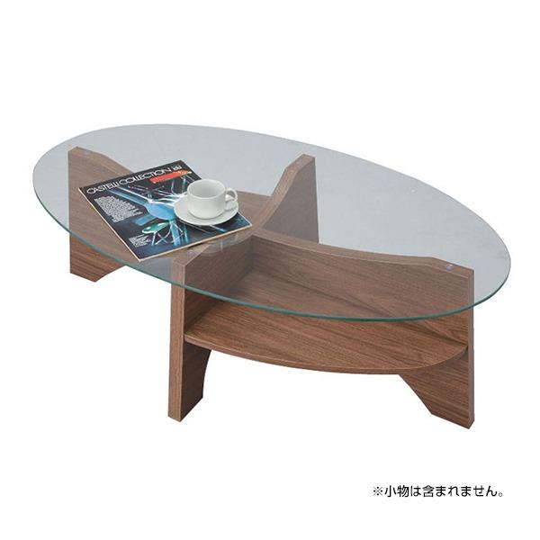 【送料無料】東谷 LE-454WAL [オーバルテーブル]◆代引き不可◆