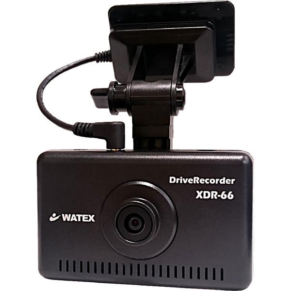 【送料無料】watex XDR-66HG-S ドライブレコーダー (シガータイプ) カー用品 レコーダー 標準型 GPS付属 車速パルス付属 音声録音 5段階加速度センサー 長時間常時録画 専用ビューアー 運転管理ソフト付属 SDカード8GB付属