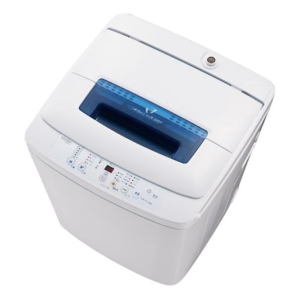 【送料無料】ハイアール JW-K42M-W ホワイト [全自動洗濯機 (洗濯4.2kg)]