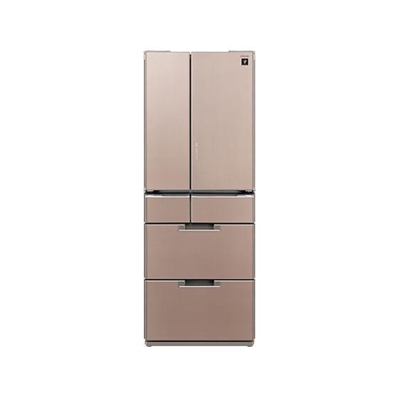 【送料無料】SHARP SJ-GF50B-T サテンブラウン 冷蔵庫 485L・フレンチドア 【代引き・後払い決済不可】【離島配送不可】