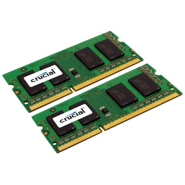 【送料無料】Crucial CT2KIT102464BF160B [ノート用メモリー SODIMM DDR3L PC3-12800 8GB 2枚組]