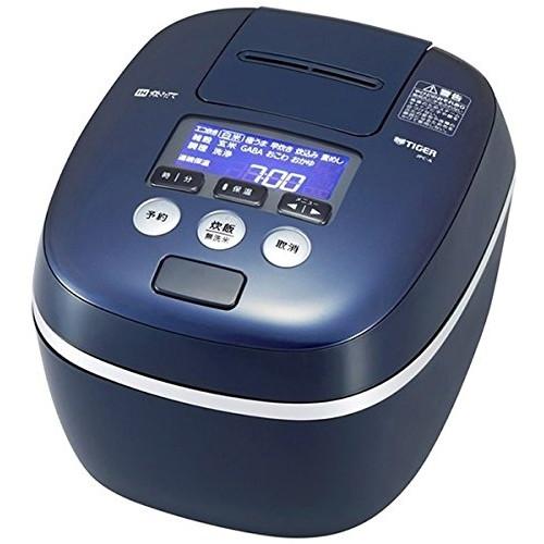 【送料無料】TIGER JPC-A100-KA ブルーブラック 炊きたて [圧力IH炊飯ジャー (5.5合炊き)]