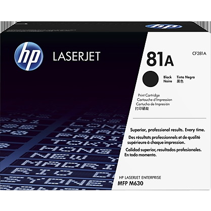 【送料無料】HP CF281A 黒 [純正LaserJetトナーカートリッジ]【同梱配送不可】【代引き不可】【沖縄・北海道・離島配送不可】