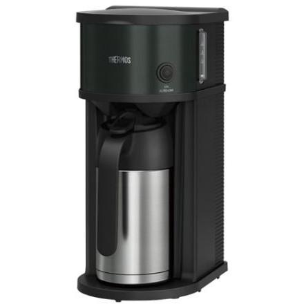 【送料無料】THERMOS ECF-701 ブラック [コーヒーメーカー(真空断熱ポット)]