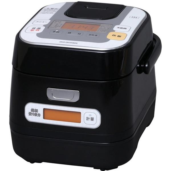 【送料無料】アイリスオーヤマ RC-IA30-B ブラック 米屋の旨み銘柄量り炊き [IH炊飯ジャー (3合)]