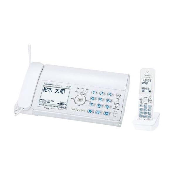 【送料無料】PANASONIC KX-PZ300DL-W ホワイト おたっくす [デジタルコードレス普通紙FAX(子機1台)]