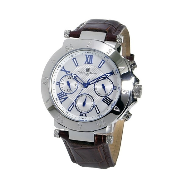 【送料無料】Salvatore Marra SM14118S-SSWH ホワイト [腕時計]