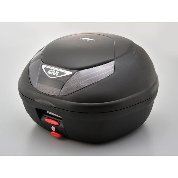 【送料無料】デイトナ D94625 [GIVI E350N2 モノロックケース(2ボタン/スモークレンズ) TECH未塗装ブラック]