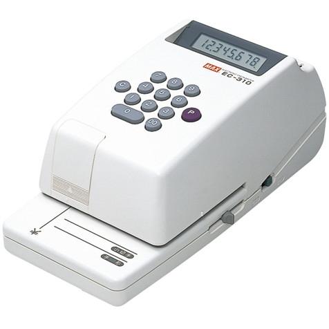 【送料無料】MAX 1318-EC90001 電子チェックライター EC-310