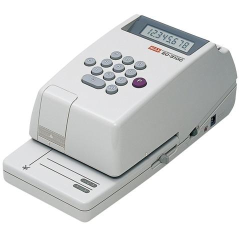 【送料無料】MAX 1318-EC90007 電子チェックライター EC-310C