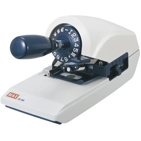 【送料無料】MAX 1318-RC90005 ロータリーチェックライタ RC-150S
