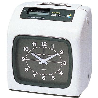 【送料無料】AMANO 1318-BX-6000W タイムレコーダーホワイト