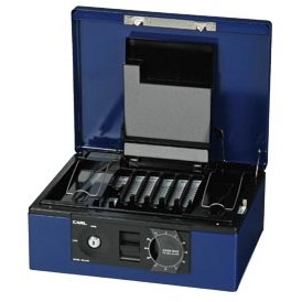 【送料無料】1318-CB-8760-B キャッシュボックス ブルー