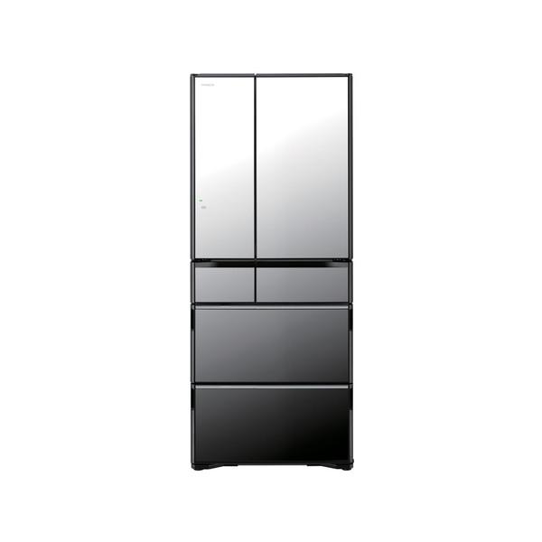 【送料無料】日立 R-WX6200G(X) クリスタルミラー 真空チルド [冷凍冷蔵庫(615L・フレンチドア)] 【代引き・後払い決済不可】【離島配送不可】