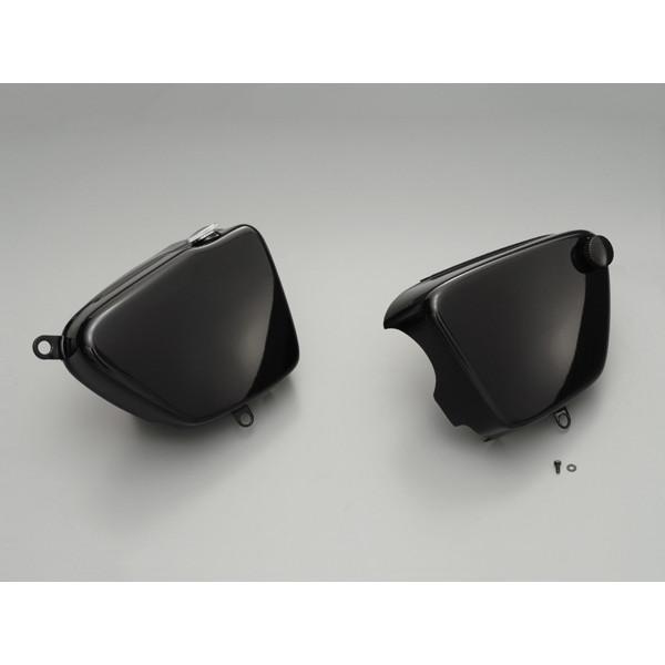 デイトナ D92467 [W1オイルタンク風 サイドカバー W800/650/400用 ブラックゲル]