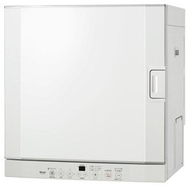 【送料無料】Rinnai RDT-52S-LP ピュアホワイト はやい乾太くん [ガス衣類乾燥機 (左開き/5.0kgタイプ/プロパンガス用)]