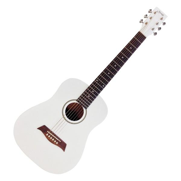【送料無料】KC YM-02/WH(S.C) ホワイト [ミニアコースティックギター(右利き用)]