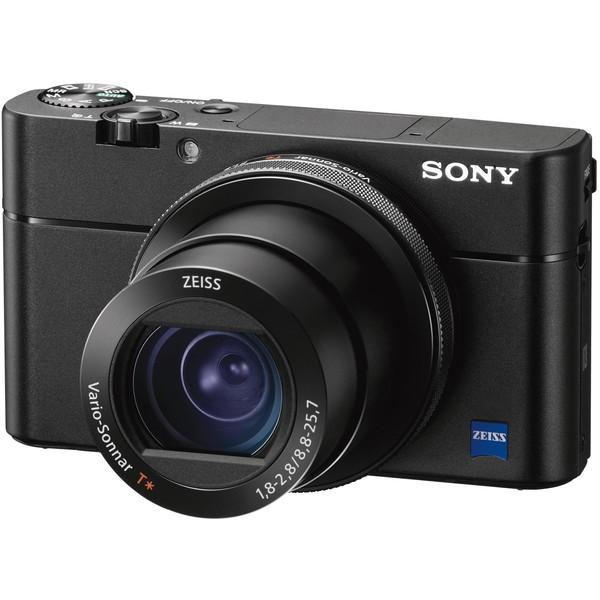 【送料無料】SONY DSC-RX100M5 ブラック サイバーショットRX [コンパクトデジタルカメラ (2010万画素)]