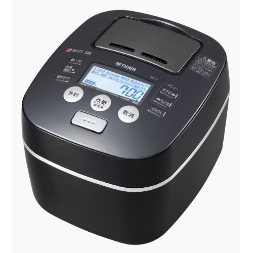 【送料無料】TIGER JKX-V103-KU アーバンブラック 炊きたて [土鍋圧力IH炊飯器 (5.5合)]