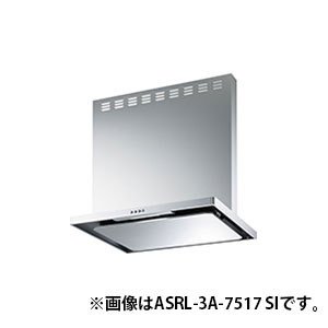 富士工業 ASRL-3A-6016R-BK ブラック スタンダード [レンジフードファン(シロッコファンタイプ・スリム型 60cm幅 右排気)]