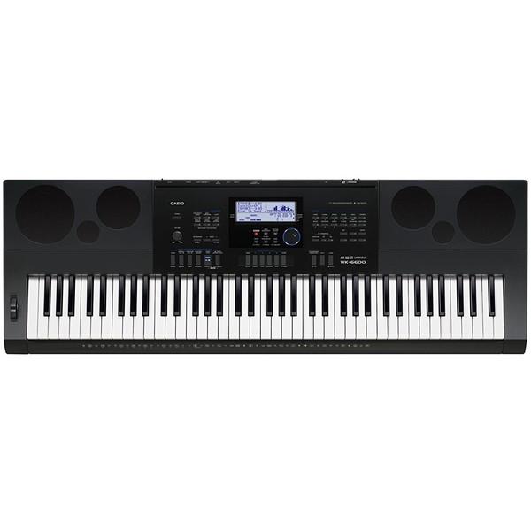 【送料無料】CASIO WK-6600 [ハイグレードキーボード (76鍵)]