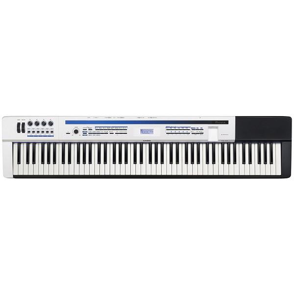【送料無料】CASIO PX-5SWE パールホワイト調 Privia [ステージピアノ (88鍵盤)]