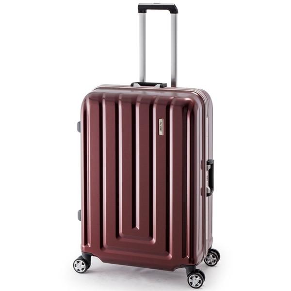 【送料無料】アジア・ラゲージ MS-033-29 カーボンレッド MAX SMART [スーツケース (82L/4~7泊/TSAロック搭載)]