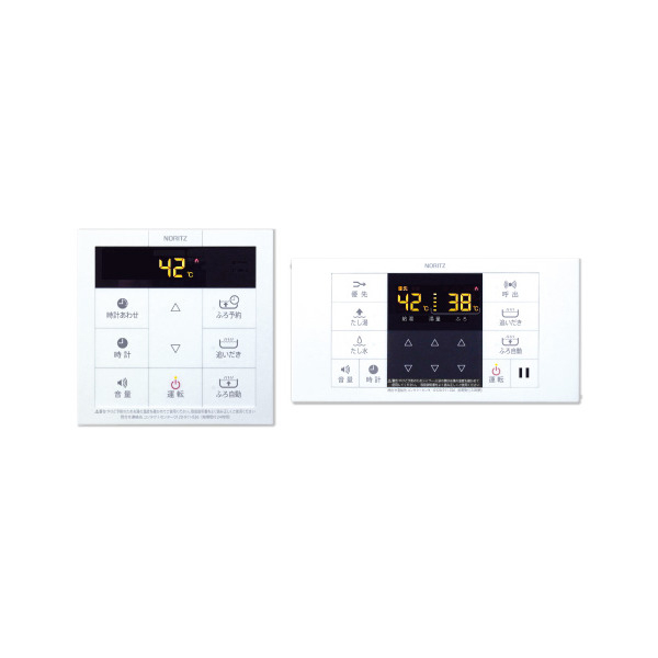 【送料無料】NORITZ RC-B001マルチセット [ガスふろ給湯器用リモコンセット(浴室リモコン+台所リモコン)]