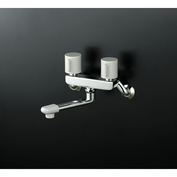 【送料無料】KVK KM140G3Z 寒 2ハンドル混合栓